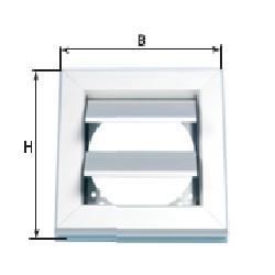 Aluminium Verschlussklappe AKA