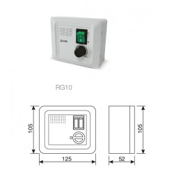 stufenloser Drehzahlregler 0-10 V  - RG 10